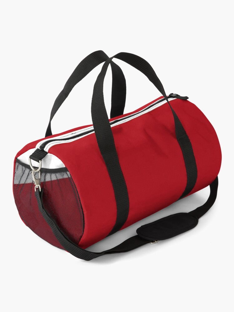 Alternate view of Red Paw Print Duffle Bag