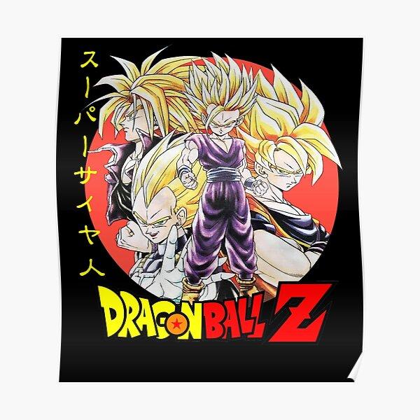Dragon Ball Z SUPER SAIYAN Poster
