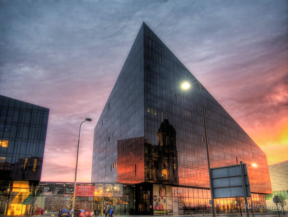 Liverpool Reflection - Man Island by NeilAlderney