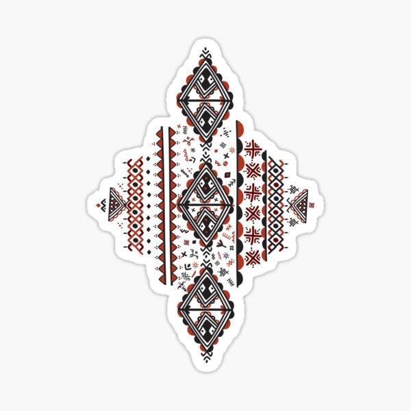 Motif Kabyle Amazigh Sticker