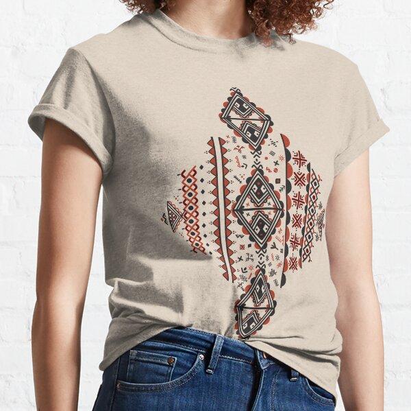 Motif Kabyle Amazigh T-shirt classique
