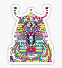 Psychedelic Pharaoh Sticker