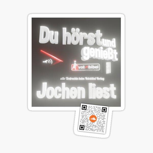 You hear and enjoy - Jochen reads Sticker