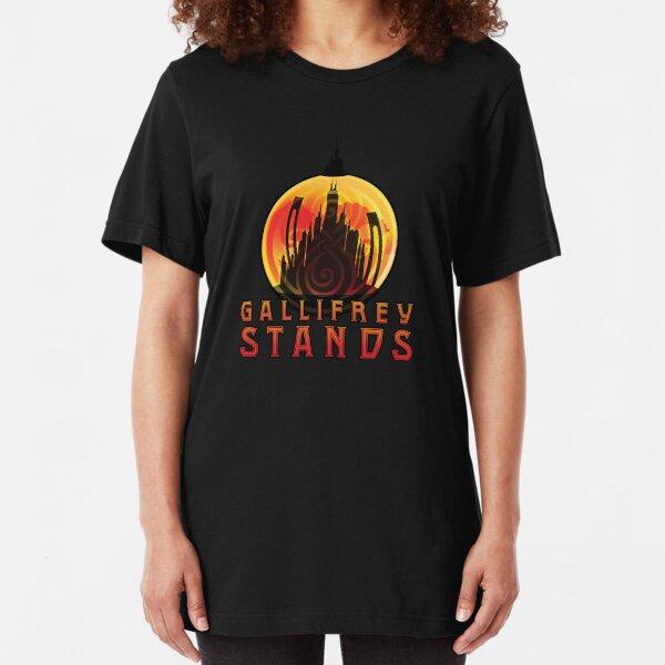 Gallifrey STANDS Slim Fit T-Shirt