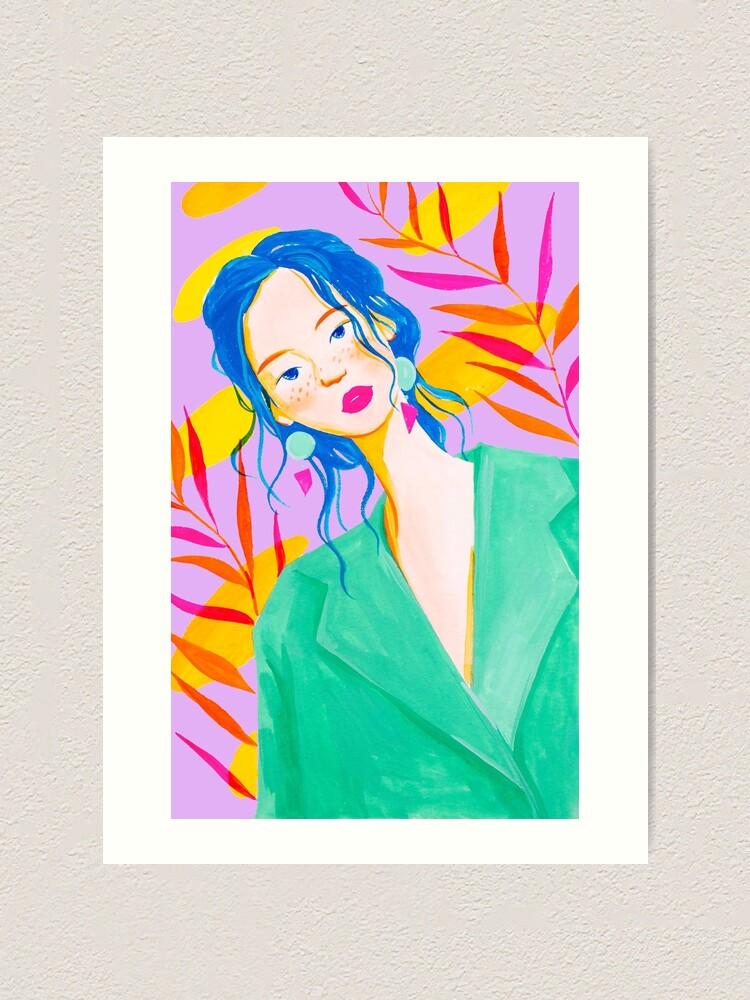 Alternate view of City Girl Art Print