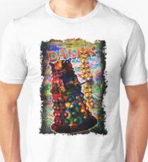 Dalek - Exterminate! by Mark Compton T-Shirt