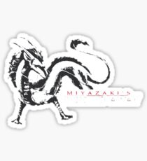 spirited away haku dragon Sticker