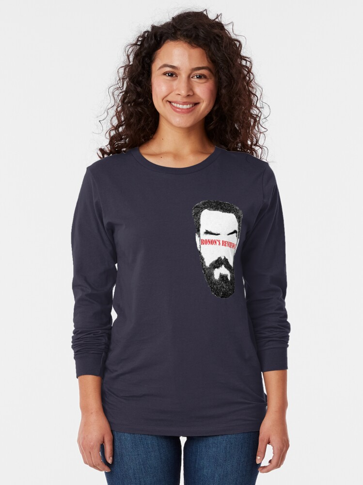 Alternate view of Ronon's Reviews New Logo Long Sleeve T-Shirt