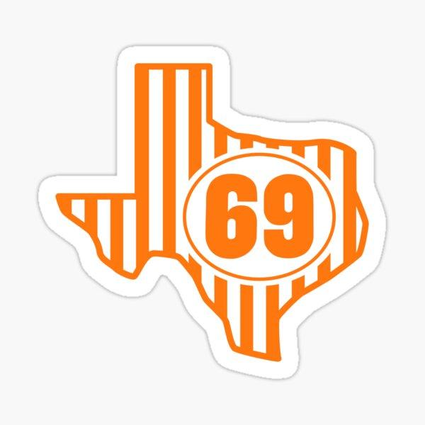Whataburger Texas #69 Sticker Sticker