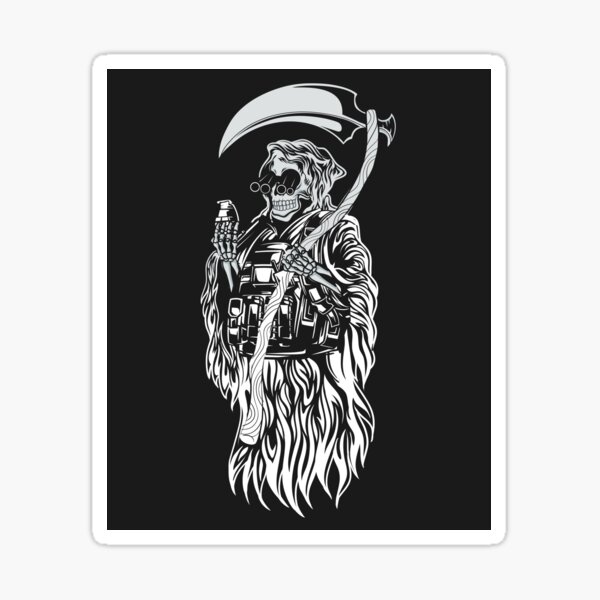 Tactical Reaper Sticker