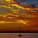 Sunset at Cowes by Tom Newman