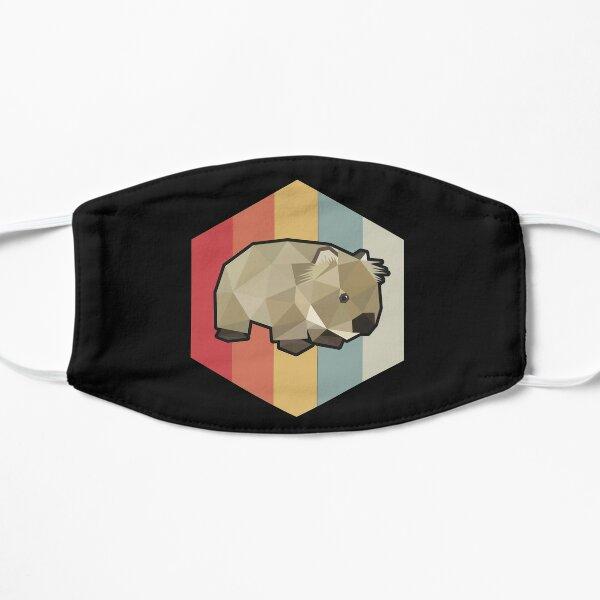 Funny Wombat Gift Flat Mask