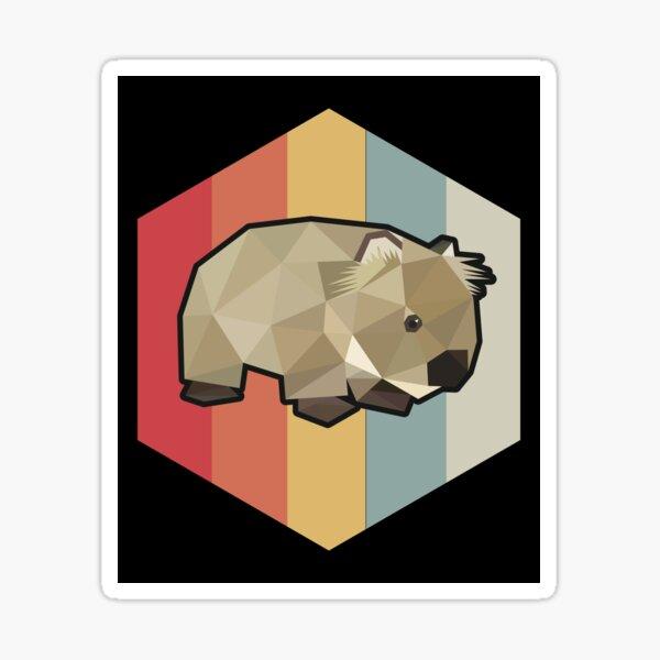 Funny Wombat Gift Sticker