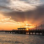 Sunset over Hays Inlet at Clontarf by John Quixley