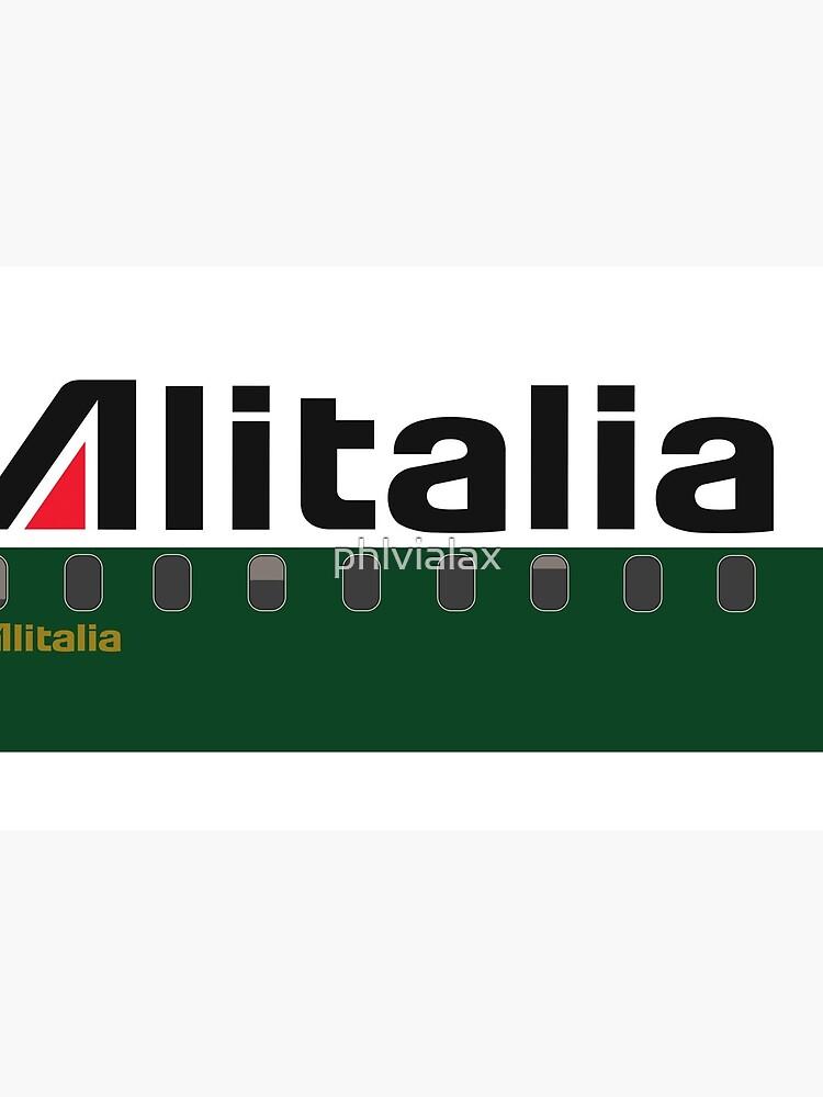 Plane Tees - Alitalia by phlvialax