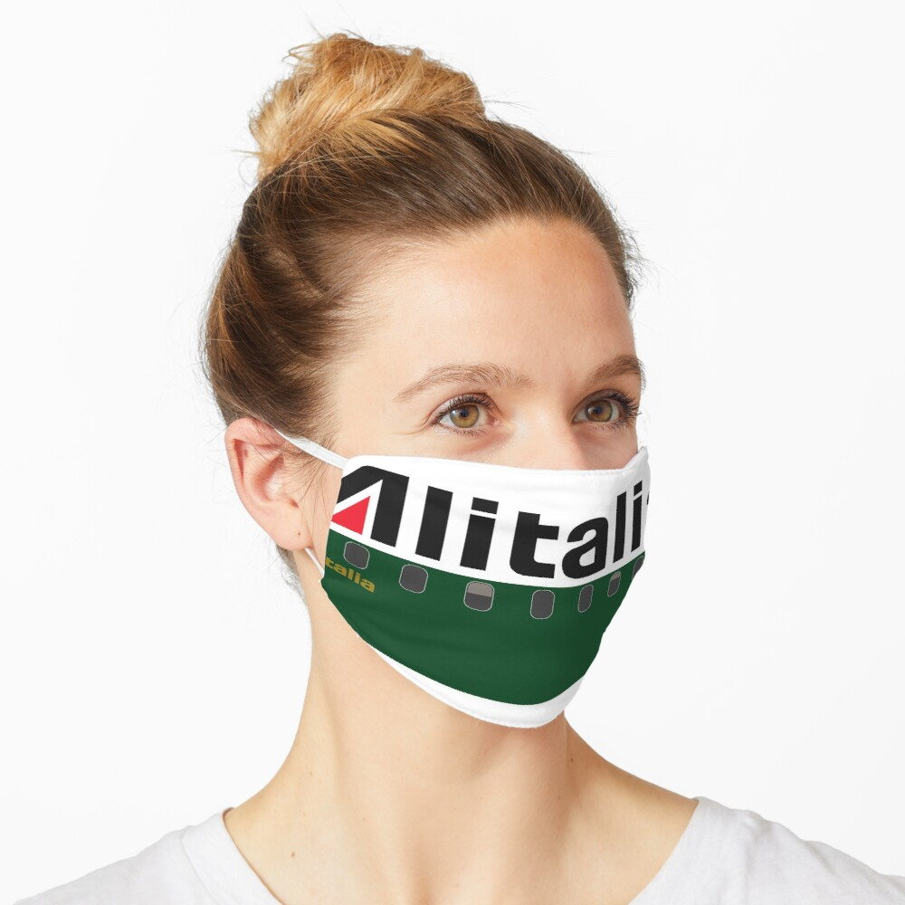 Plane Tees - Alitalia Mask