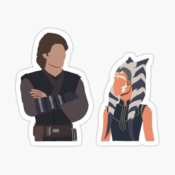 Clone Wars S7 Anakin & Ashoka  Sticker