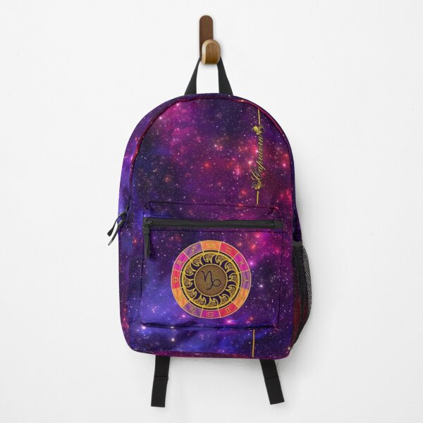 Capricorn Zodiac Lightburst - Circle Backpack