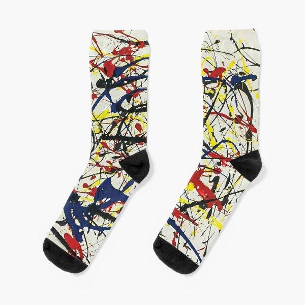Jackson Pollack - Los Nr. 234 Socken