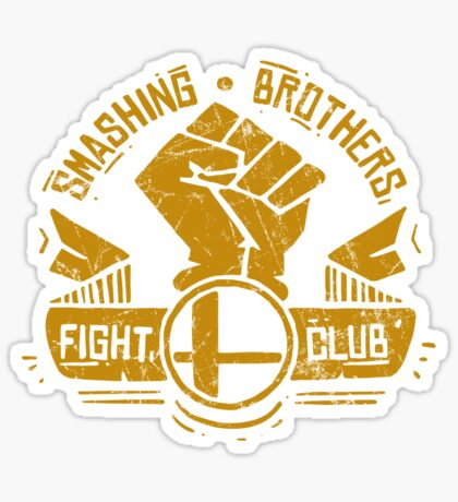 Smashing Brothers Sticker