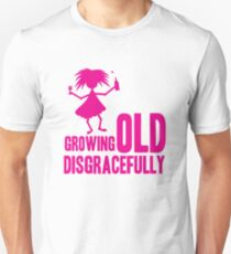 Growing old  Slim Fit T-Shirt