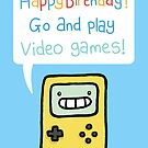 Video Game Birthday Card! by VenkmanProject