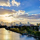Sunrise over Miami by Bill Wetmore