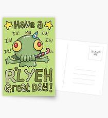 Cthulhu Birthday Card! Postkarten