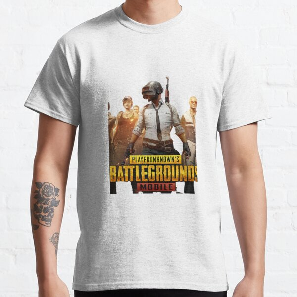 Pubg Mobile - Diseño exclusivo Camiseta clásica