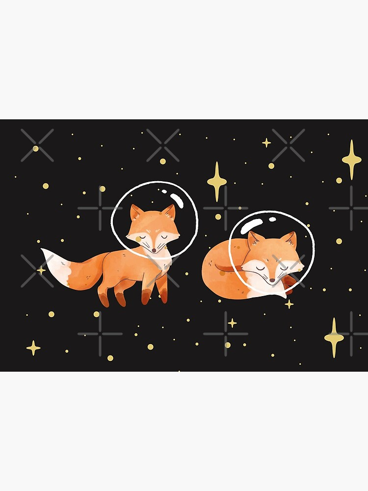 Space Foxes Classic By graphicmeyou by graphicmeyou
