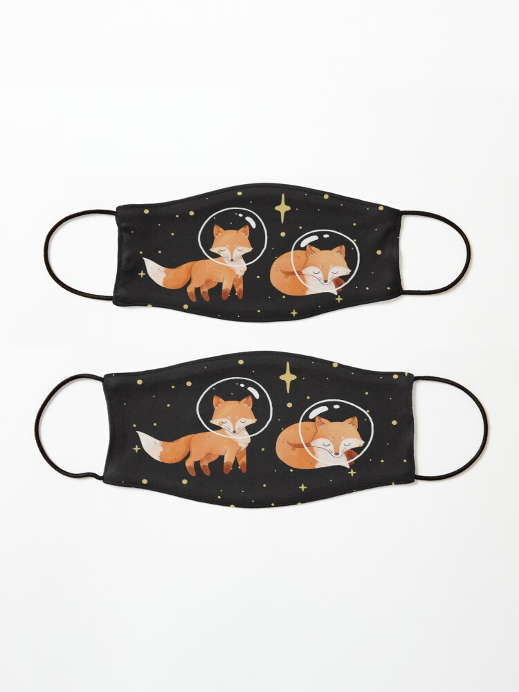 Alternate view of Space Foxes Classic By graphicmeyou Mask
