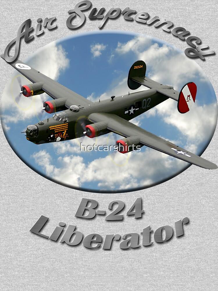 B-24 Liberator Air Supremacy by hotcarshirts