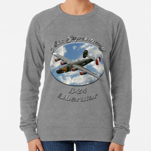 B-24 Liberator Air Supremacy Lightweight Sweatshirt