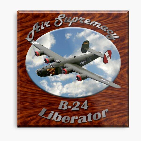 B-24 Liberator Air Supremacy Metal Print