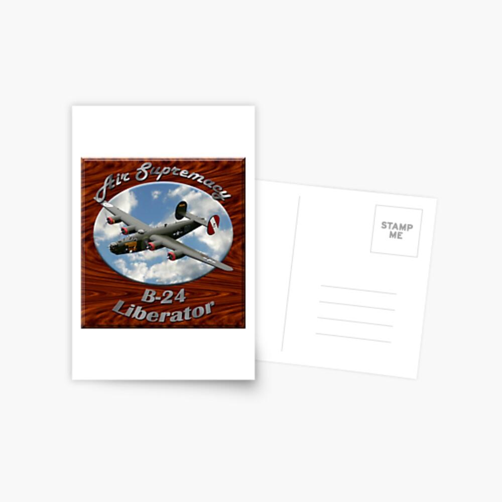 B-24 Liberator Air Supremacy Postcard