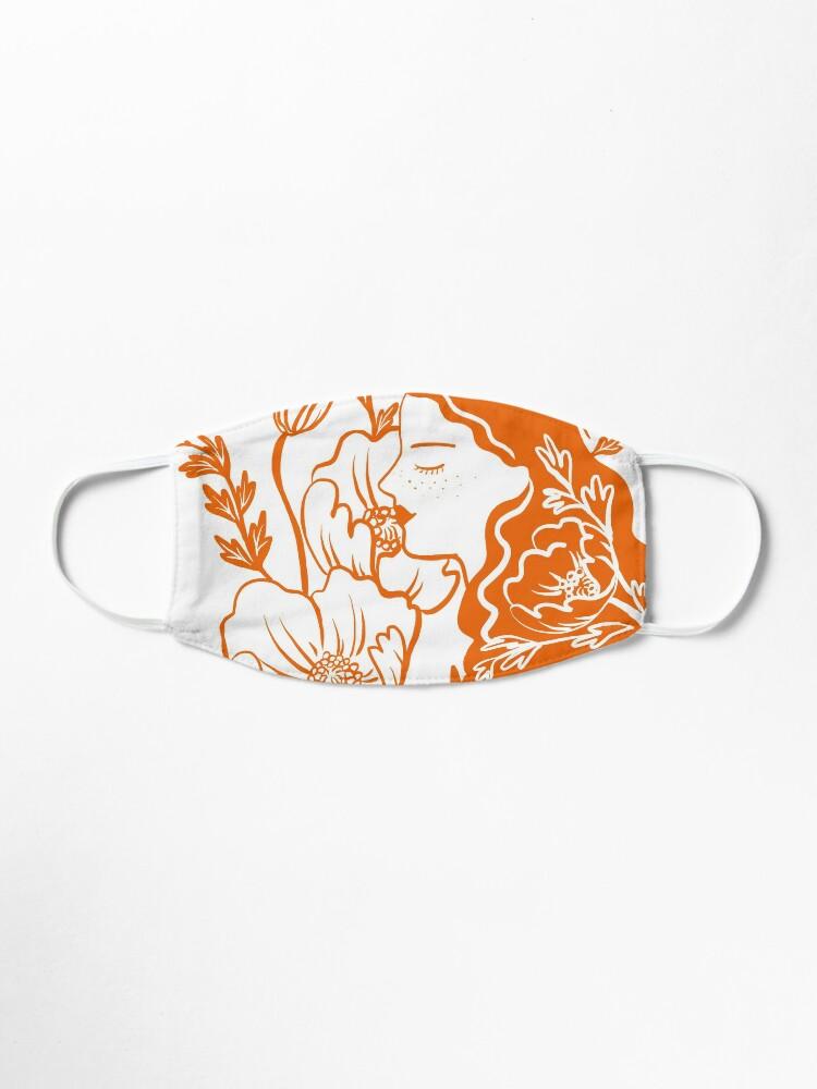 Alternate view of Blooming Lady-Orange Mask
