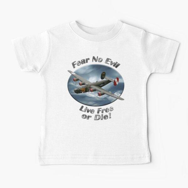 B-24 Liberator Fear No Evil Baby T-Shirt