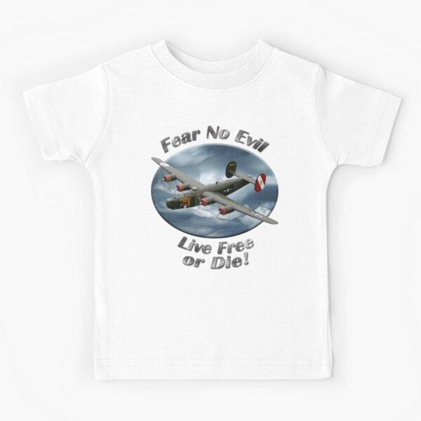 B-24 Liberator Fear No Evil Kids T-Shirt