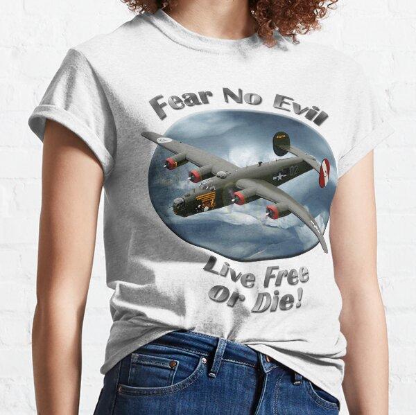 B-24 Liberator Fear No Evil Classic T-Shirt