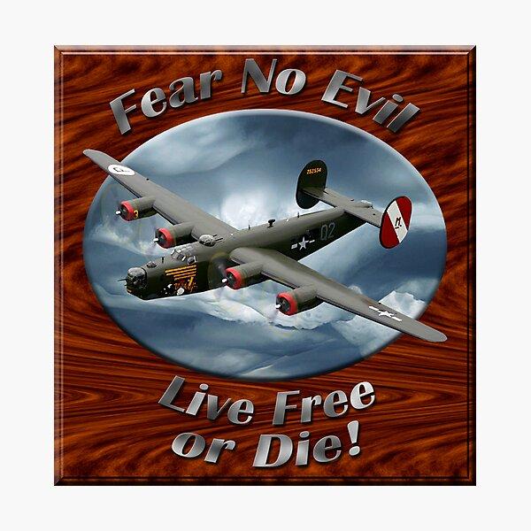 B-24 Liberator Fear No Evil Photographic Print