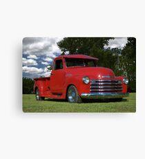 1948 Chevrolet Pickup Canvas Print