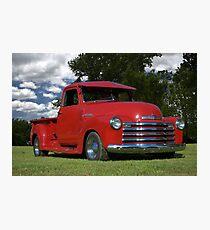 1948 Chevrolet Pickup Photographic Print