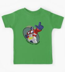 Optimus Prime - Transform and Roll Out Kids Clothes