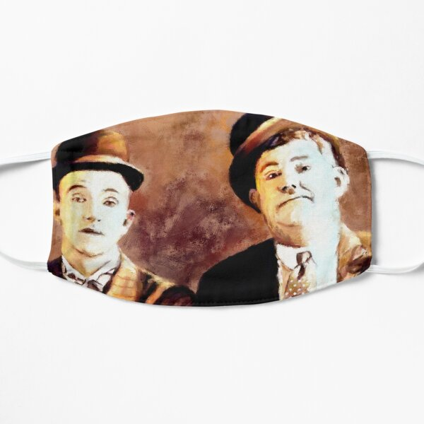 Laurel and Hardy comedy duo Mask