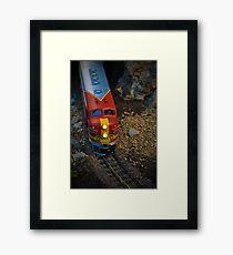 Toy Train III ~ Miniatures Series  Framed Print
