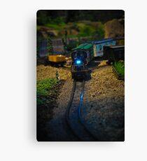 Toy Train IV ~ Miniatures Series  Canvas Print