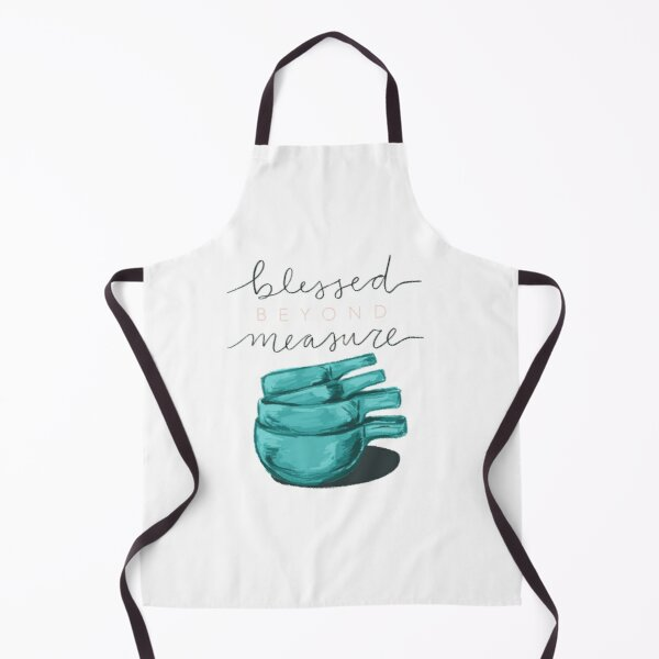 Blessed Beyond Measure Apron