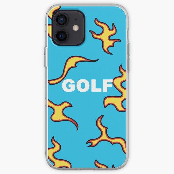 GOLF WANG Blue Flame Design iPhone Soft Case