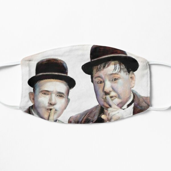 Laurel and Hardy Schh Mask