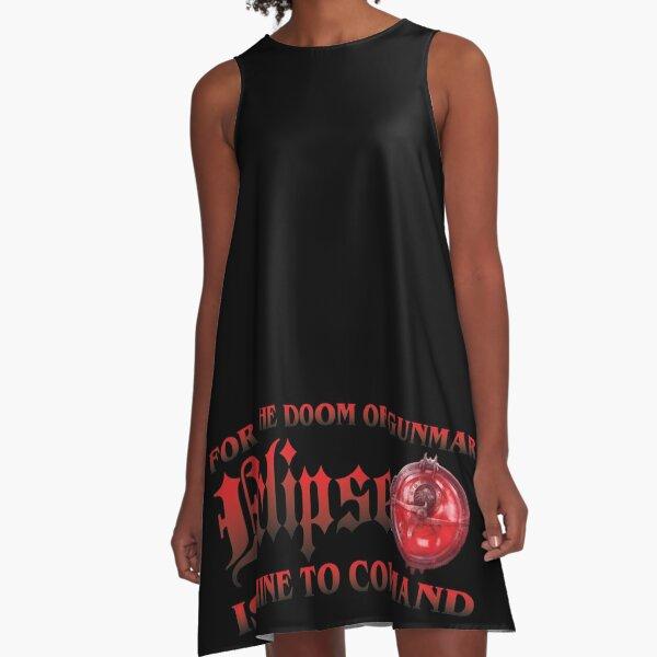 For the Doom of Gunmar A-Line Dress